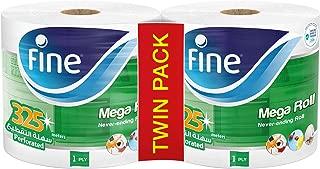Fine, Paper Towel, Mega Roll, 325 meters, pack of 2, 3000 sheets