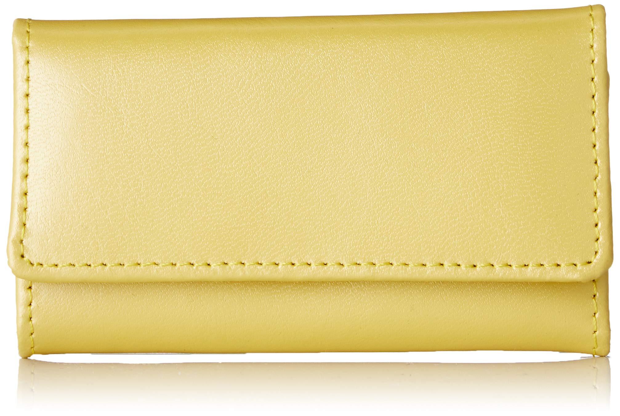 [Kangol sports]女性用キーバッグの表面には少し真珠が付いています。 4キー小銭入れ付きジッパーポケットS-KG830023YE