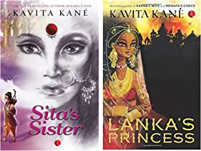 Sita's Sister + Lanka's Princess (Set of 2 books)
