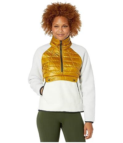 Mountain Hardwear Altiustm Hybrid Pullover (Dark Bolt) Women