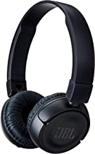 JBL Bluetooth Wireless On-Ear Headphones with Built-in Remote and Microphone,T450bt,Black (Certified Refurbished)