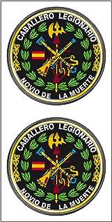 Artimagen Pegatina Oval Legi/ón Espa/ñola 100 a/ños de Valor 65x45 mm.