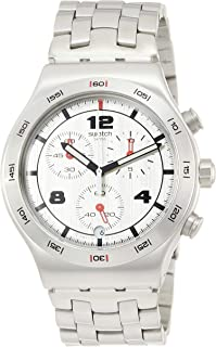 Swatch Men's Silver Again YVS447G Stainless-Steel Sw