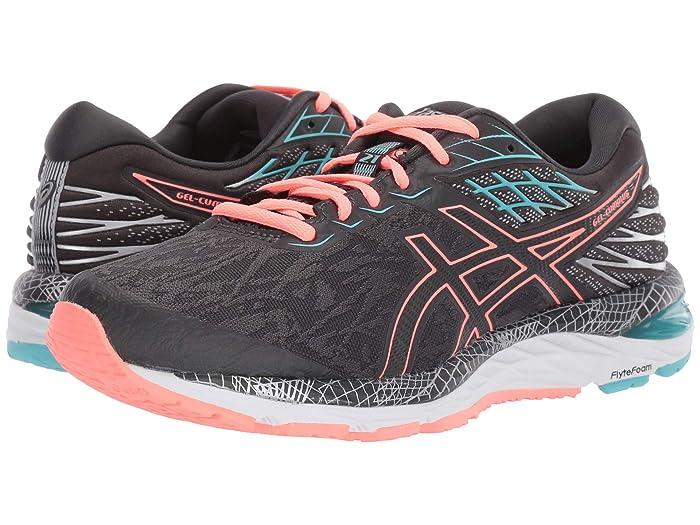 ASICS  GEL-Cumulus 21 Lite-Show (Grey/Sun Coral) Womens Running Shoes