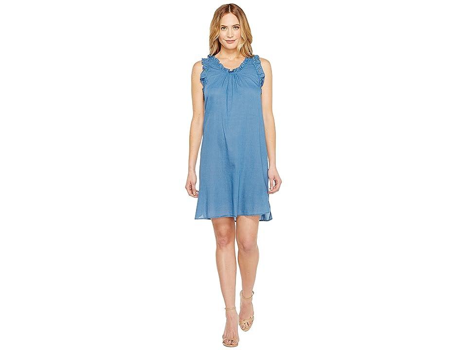 Image of AG Adriano Goldschmied Dixie Dress (New Blue) Women's Dress