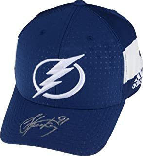 e80f0a51e78 Steven Stamkos Tampa Bay Lightning Autographed Adidas Cap - Fanatics  Authentic Certified - Autographed NHL Hats