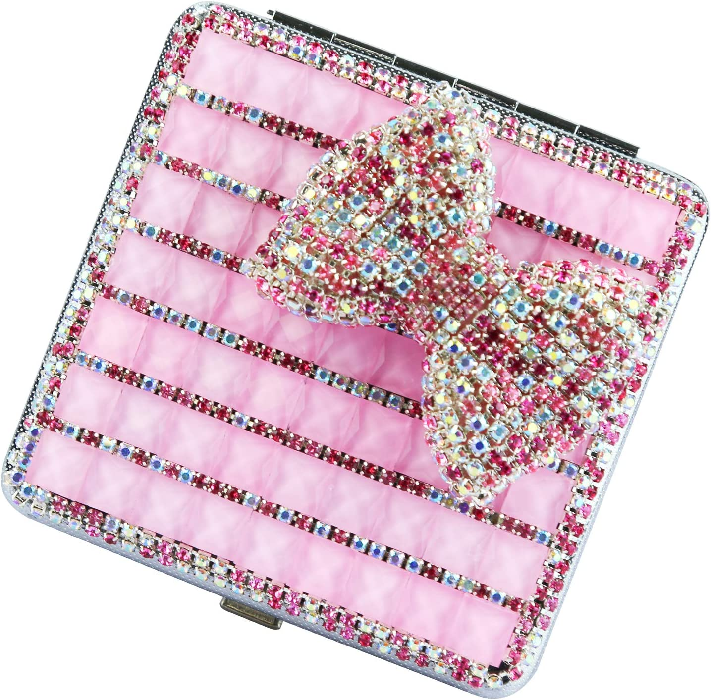Max 83% OFF Lzttyee Alloy Portable Women Cigarette Popular shop is the lowest price challenge Box Bling Pock Case