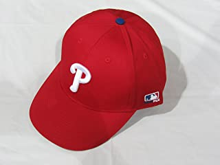 2013 Adult FLAT BRIM Philadelphia Phillies Home Red Hat Cap MLB Adjustable