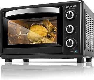 comprar comparacion Cecotec Bake&Toast 650 Gyro - Horno Conveccion Sobremesa, capacidad de 30 litros, 1500 W, 5 Modos, Temperatura hasta 230ºC...