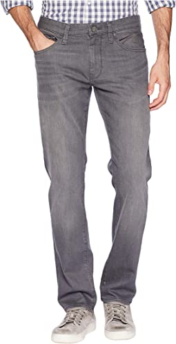 Marcus Slim Straight Leg in Light Grey Brooklyn