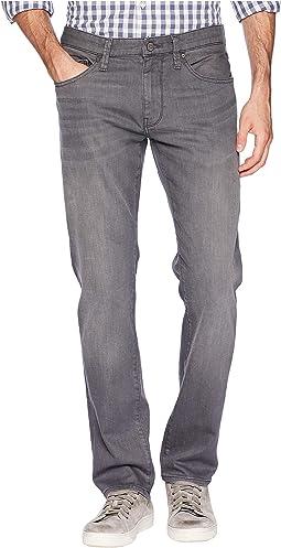 Marcus Slim Straight Leg in Light Grey Brooklyn
