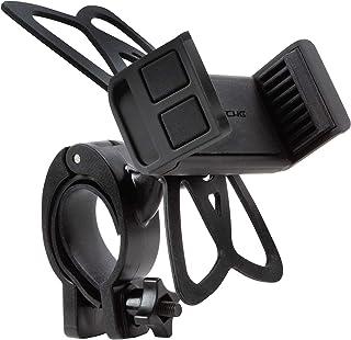 SCOSCHE HDM3SM-RP ハンドルバー バイク 電話マウント ユニバーサル電話ホルダー付き 安全バンド 調節可能なクランプ付き モバイルデバイス用