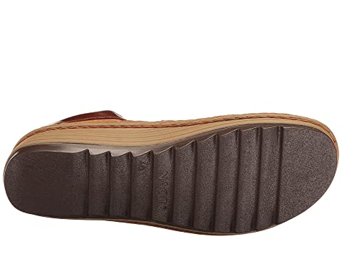 Duck Naot aceitosa Verbena Brown Nubuck Leather Maple Fwq4q