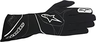 Alpinestars 3551817-12-L TECH 1-KX GLOVES, BLACK/WHITE, SIZE L