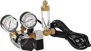Milwaukee Instruments MA957 Dual-Valve CO2 Adjustable Flow Pressure Regulator, Dual..