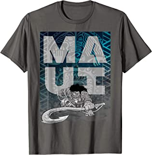 Moana Maui Epic Fish Hook Poster Graphic T-Shirt