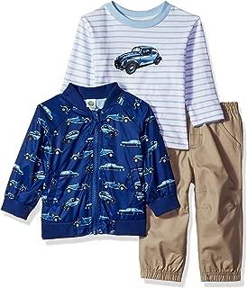 Baby Boys Jacket Set, tan