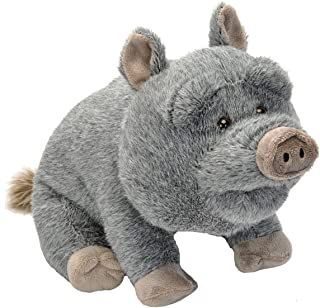 Wild Republic Potbelly Pig Plush, Stuffed Animal, Plush Toy, Gifts For Kids, Cuddlekins 12 Inches