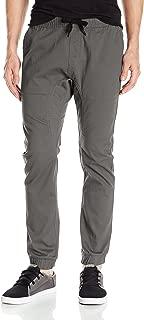 Big and Tall Basic Stretch Twill Jogger Pants-Reg and Big & Tall Sizes