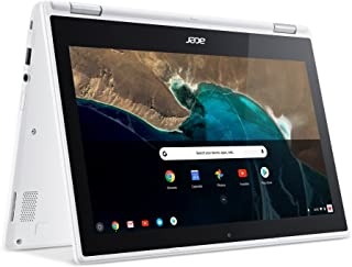 Acer Chromebook R11 CB5 132T C1LK Laptop - Intel Celeron N3150, 11.6 Inch, 32 GB, 4 GB, Chrome, Denim White