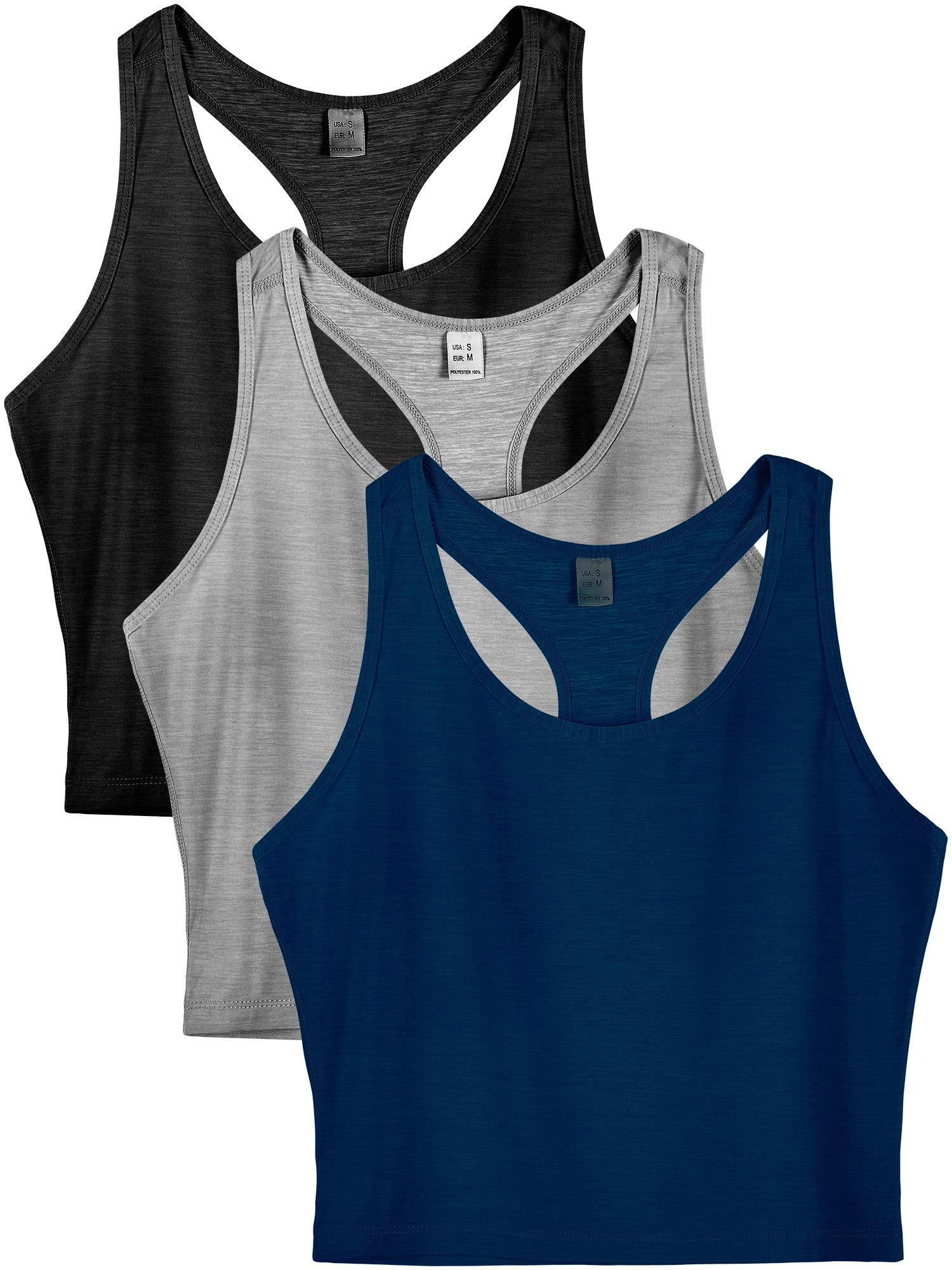 Cadmus Workout Racerback Yoga Tank Top for Women