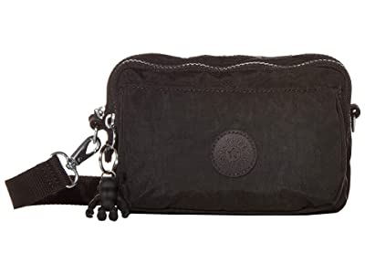 Kipling Abanu Multi Convertible Crossbody Bag (Black Noir) Handbags
