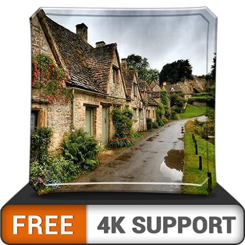 pacote de chuva virtual gratuito HD - aproveite a estação chuvosa na sua TV HDR 4K, TV 8K e dispositivos de fogo como papel de parede, decoração para as férias de Natal, tema para mediação e paz