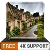 pacchetto di pioggia virtuale gratuito HD - goditi la stagione delle piogge bagnate sulla tua TV HDR 4K, TV 8K e dispositivi di fuoco come sfondo, decorazione per le vacanze di Natale, tema per la med
