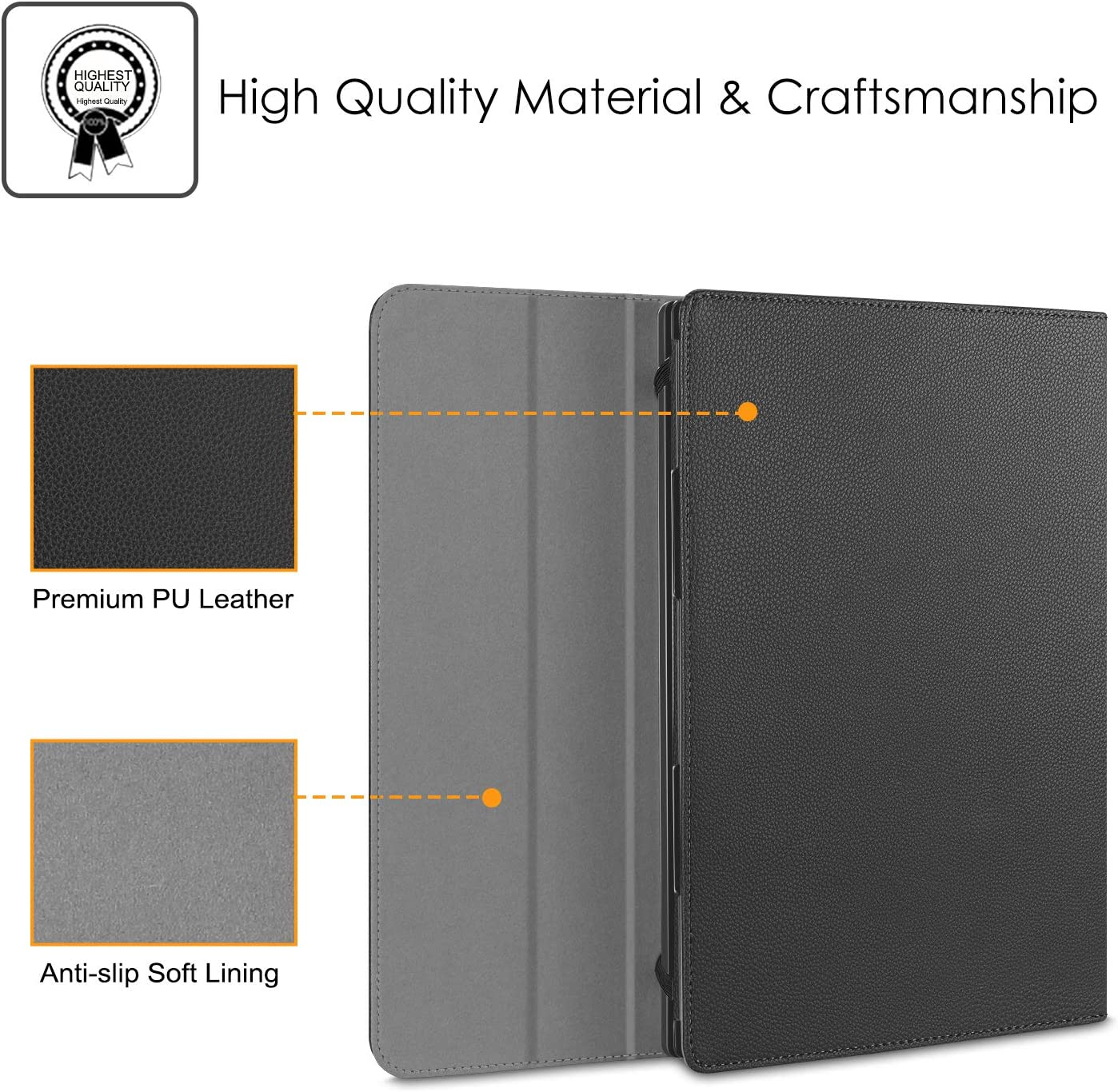 Black Premium PU Leather Protective Portfolio Book Cover Compatible with Samsung Chromebook 3 XE500C13 /& Chromebook 2 XE503C12//XE500C12 Fintie Sleeve Case for 11.6 Samsung Chromebook 4 XE310XBA