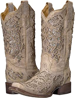 Wide calf cowgirl boots + FREE SHIPPING