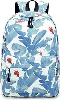 Lightweight Durable Backpacks for Teen Girls Cute Kids School Bag Bromeliad Leaf