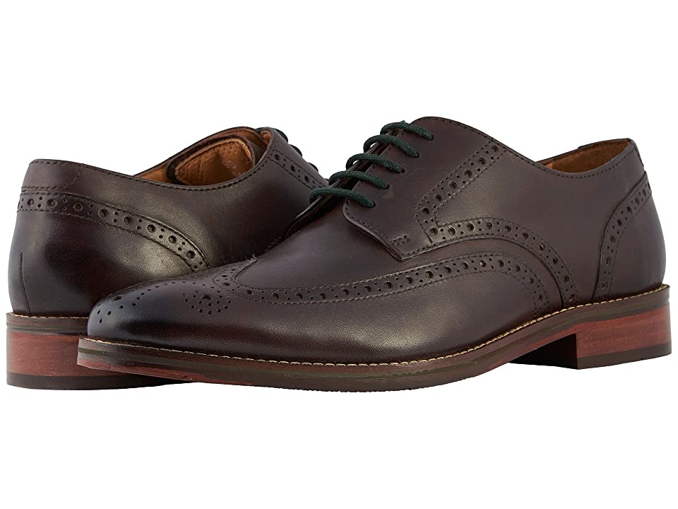 Florsheim Salerno Wingtip Oxford (Brown Smooth) Men