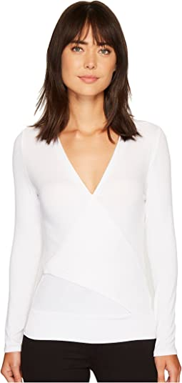 Lanston - Crossover Long Sleeve Top