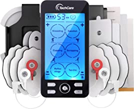 Best Tens Unit Plus 24 Rechargeable Electronic Pulse Massager Machine Multi Mode Device with All Accessories [New Model] Reviews