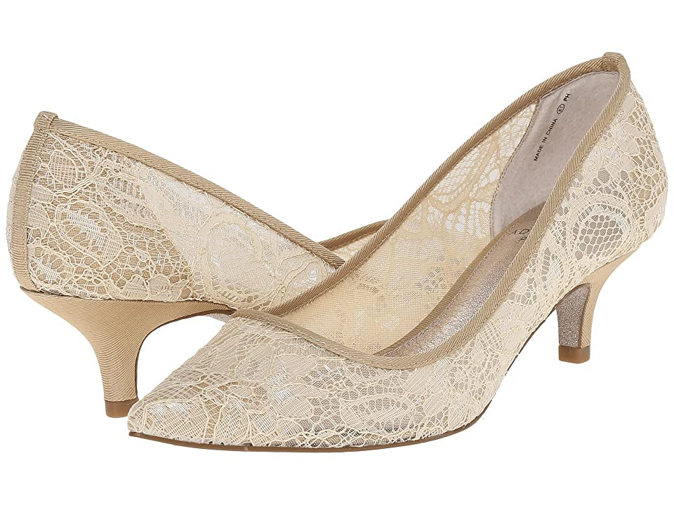 Adrianna Papell Lois Lace (Latte 1890 Lace) Women