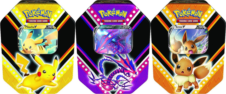 Pokémon TCG V Powers Tin! One Random Sealed Tin.