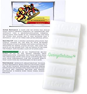 SpringSolution, Warm Ski/Snowboard All Temperature Ski Wax. 141 g