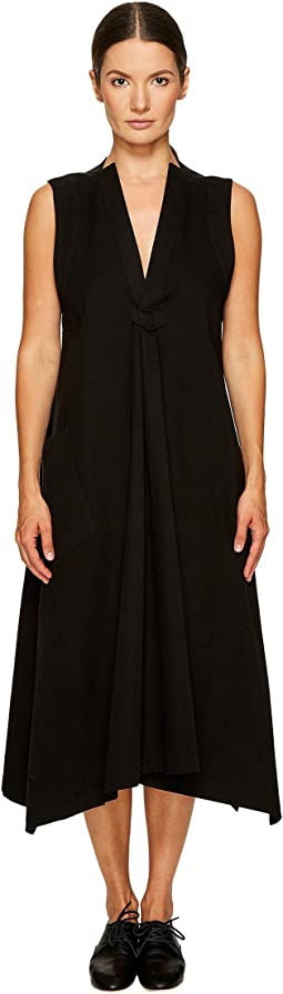 Y's by Yohji Yamamoto - Tuck No Sleeve Dress