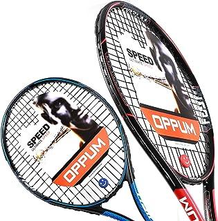 OPPUM 27 inch Pro Tennis Racket for Adults Student Women and Men Rackets Training Tennis Racquet,Super Lightweight Easy Co...