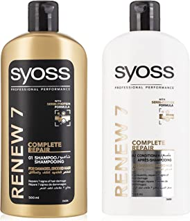 Syoss Renew 7 Shampoo + Conditioner, 500 ml