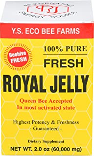 100% Pure Fresh Royal Jelly 60,000 mg YS Eco Bee Farms 2.0 oz Liquid