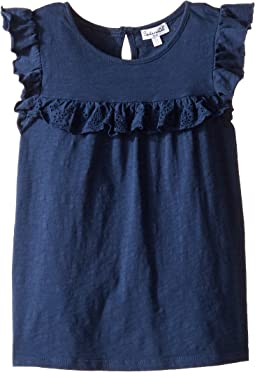 Splendid Littles - Always Flutter Short Sleeve Knit Top (Little Kids)