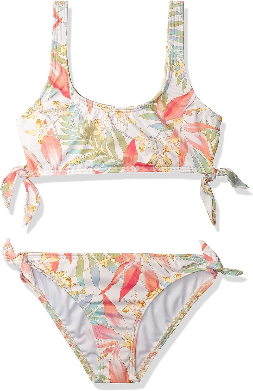 Billabong Girls' Lil Year-end annual account Colorado Springs Mall Love Palms Tank Set Hanky Tie Swim