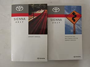 Best toyota sienna owners manual 2017 Reviews