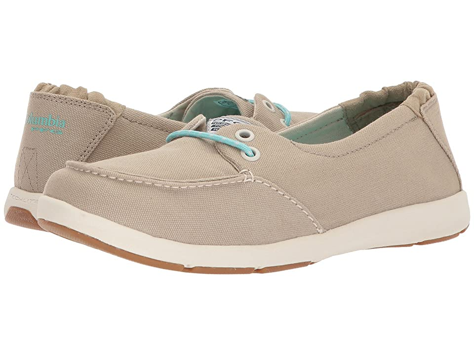 Columbia Delray PFG (British Tan/Gulf Stream) Women