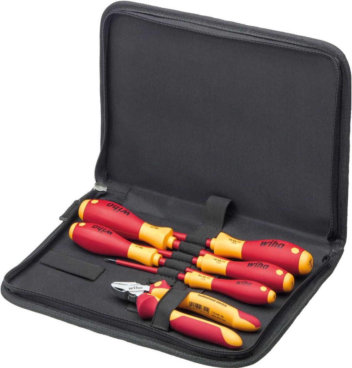 WIHA 33969 - Juego de herramientas para electricistas 9300-018 Tool Set Electrician Ref. 9300018