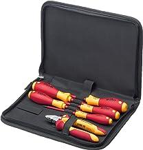 Wiha Werkzeug Set Elektriker (33969), Schraubendreher, Seitenschneider 6-tlg. in Tasche