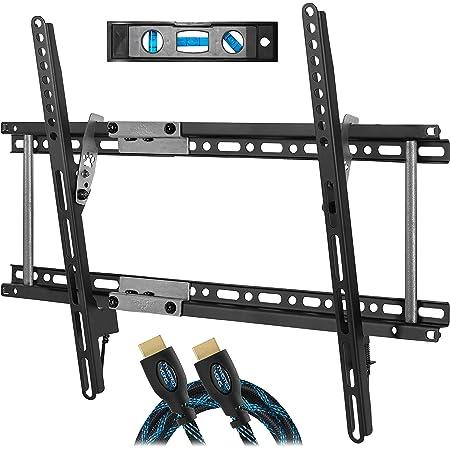 Cheetah Mounts Aptmm2b Tv Wandhalterung Neigbar Für 80 165cm 32 65 Lcd Led Flachbildschirme Mit Vesa Heimkino Tv Video