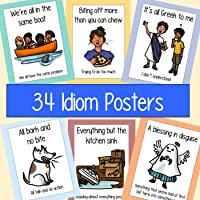 Idiom Posters - 34 Posters