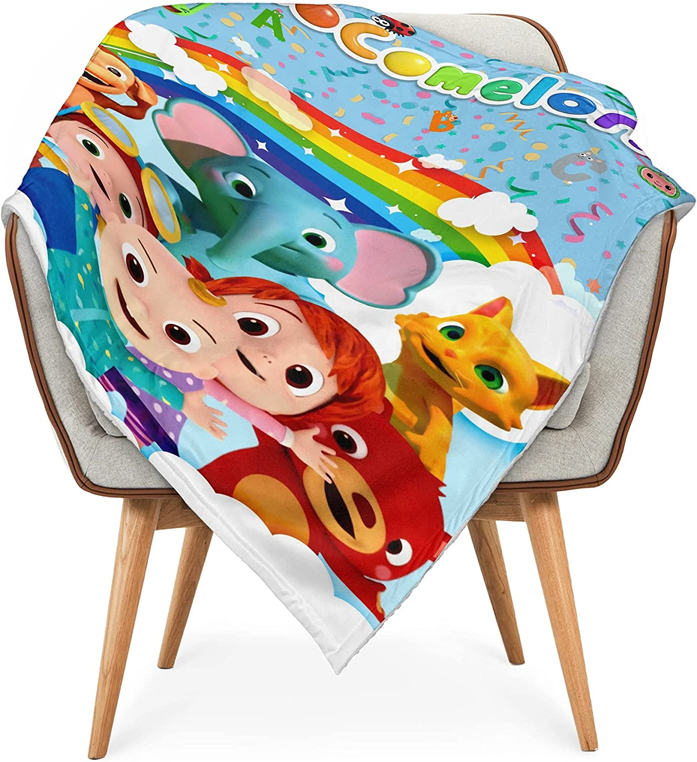Baby Blanket Super Soft Flannel Throw Air Conditioner Receiving Blankets for Toddler Kids for Bedroom Couch 30x40 Inch Color 3